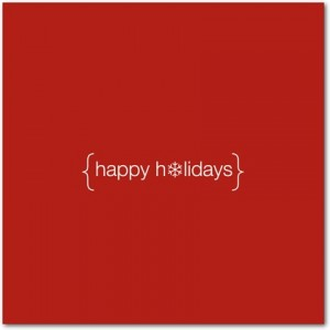 Happy Holidays!